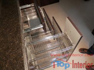 Kitchen stainless steel baskets