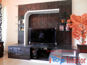 TV wall unit for modern TVs