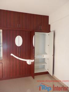 Kids room wardrobe inside image