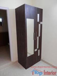 Simple 2 doors wardrobe