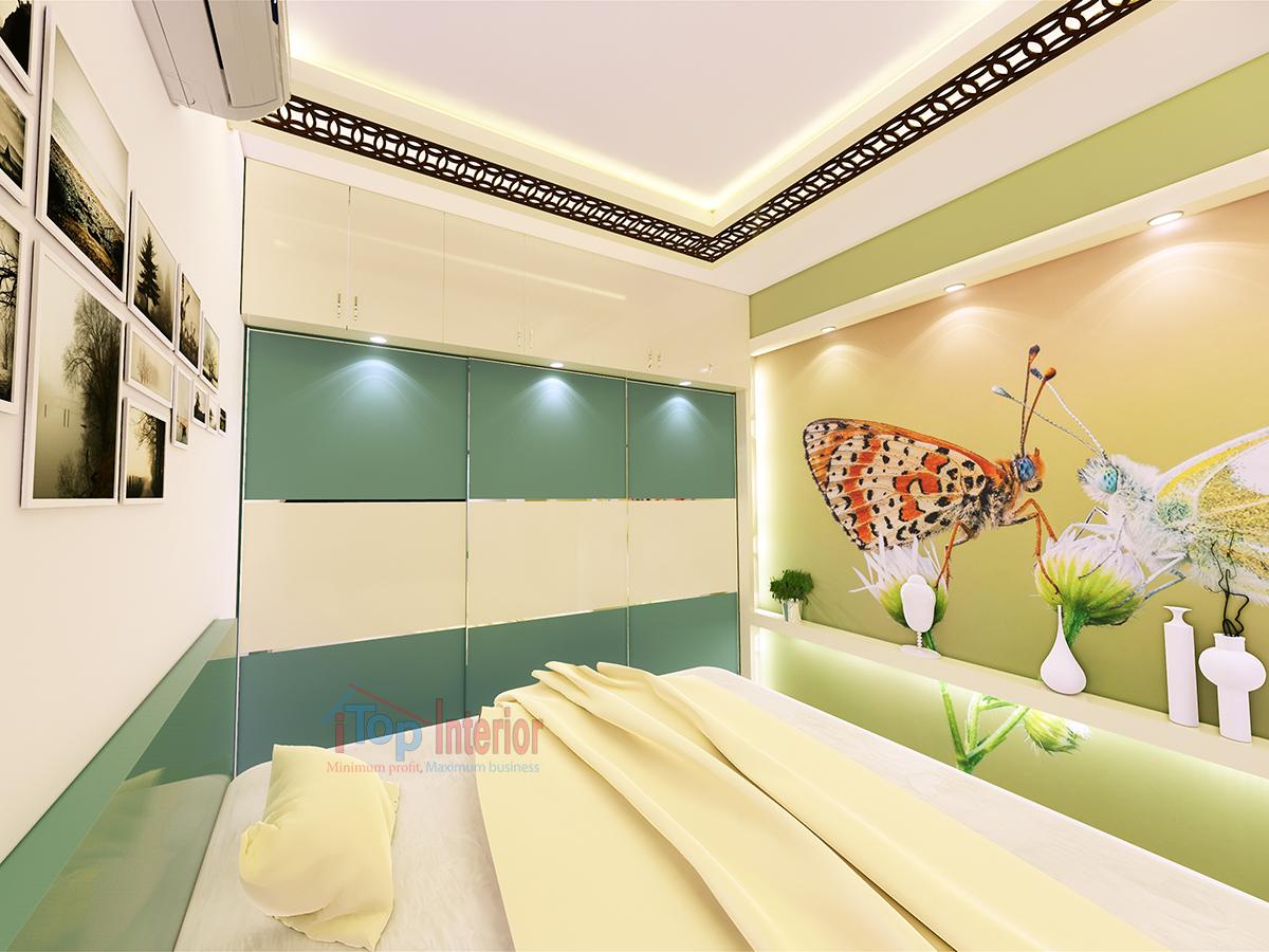 Bedroom Interior work in Bangalore