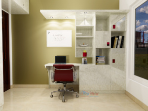 Interior of a study room In Bangalore