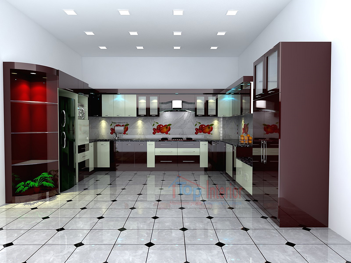 Modern Modular kitchen in Bangalore